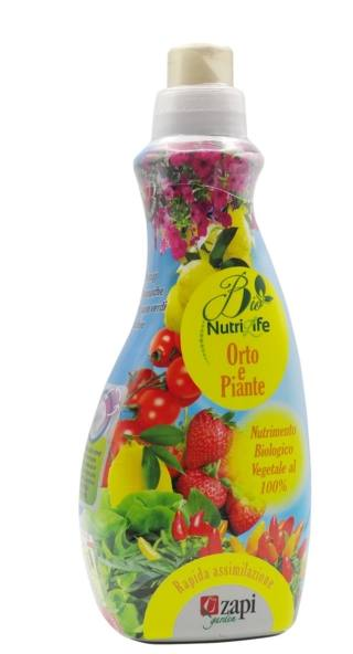 Nutrilife Bio Liquido Orto e Piante, Zapi Garden