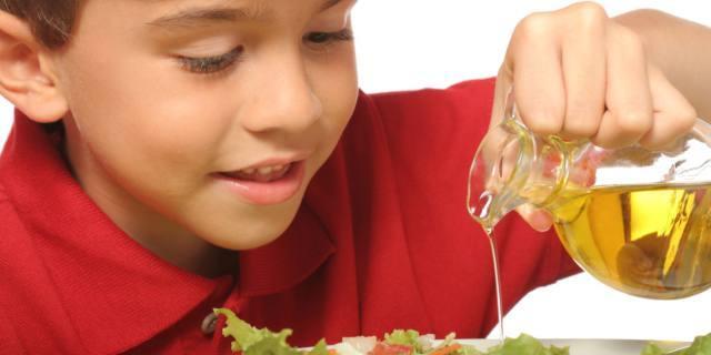 Olio d'oliva contro l'obesità infantile