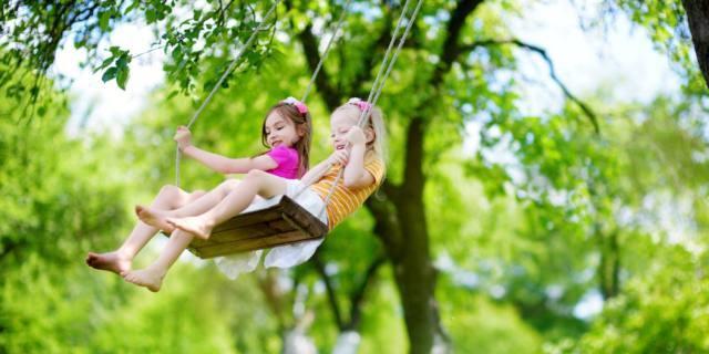 Bambini meno depressi se vivono in mezzo alla natura