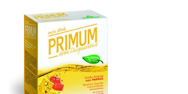 Primum Mini Drink Dren L'Acquaretico gusto Ananas Papaya, Specchiasol