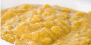 Crema di lenticchie gialle