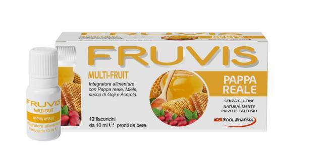 Fruvis Multi-Fruit Pappa Reale, Pool Pharma
