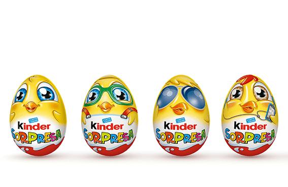 Ovetto Kinder Sorpresa, Ferrero