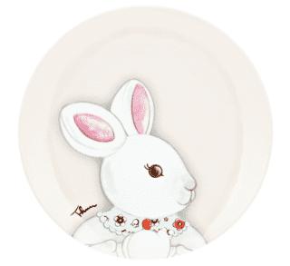 Piatto dessert Coniglio Magico, Thun