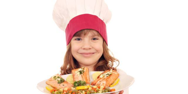 Asma nei bambini migliora con una dieta ricca di pesce