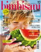 In edicola dal 16 luglio il nuovo numero di Bimbisani & belli di Agosto