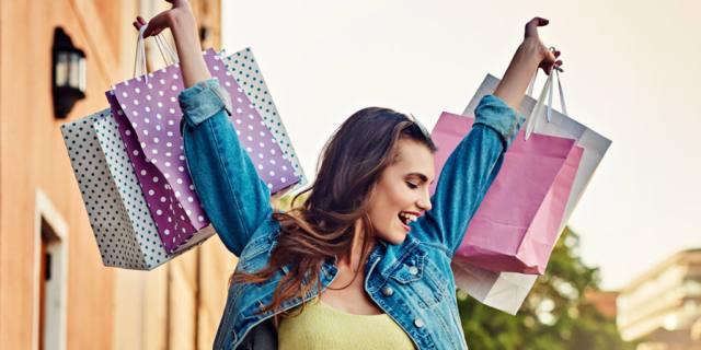 La Shopping therapy fa bene alla salute