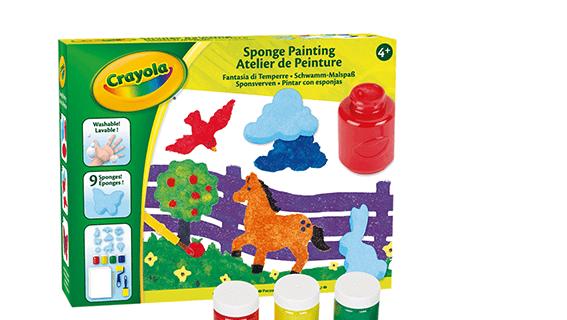 Set Fantasia di tempere, Crayola
