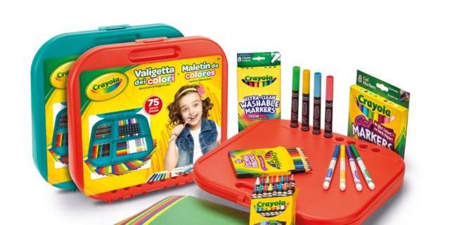 Valigetta dei colori, Crayola
