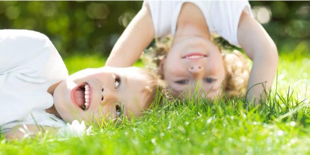 Salute dei bambini: conta anche il  contatto con la natura