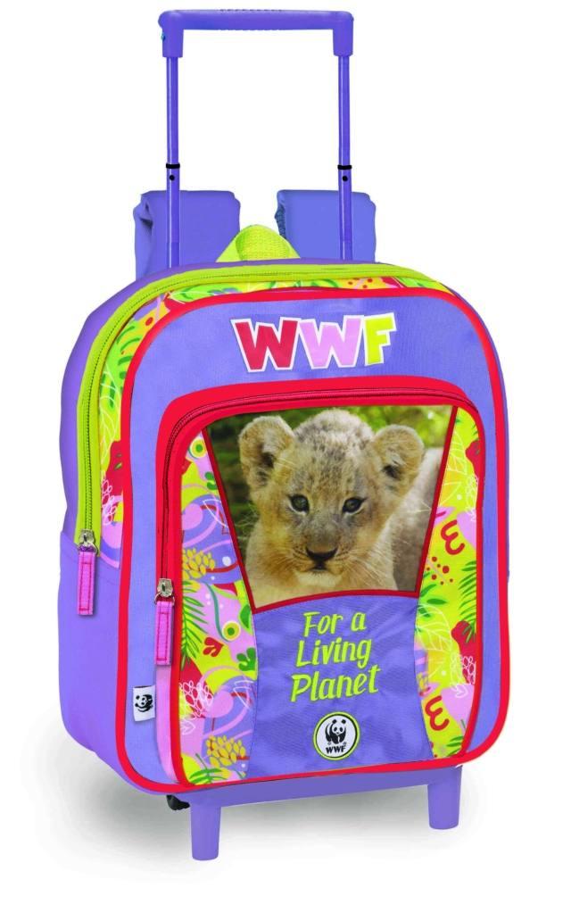 Zaino asilo Trolley Jungle WWF, Franco Cosimo Panini