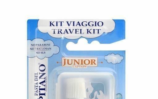 Kit viaggio Junior, Pasta del Capitano