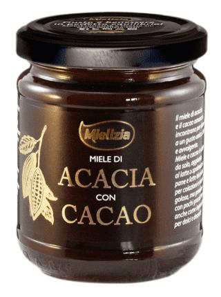 Miele di acacia con cacao, Mielizia