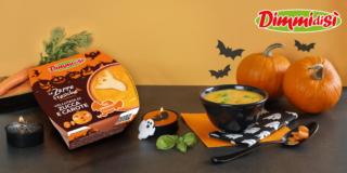Vellutata di zucca e carote versione Halloween, Dimmidisì