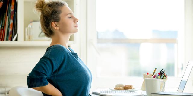 Mal di schiena: non è (solo) colpa della vita sedentaria