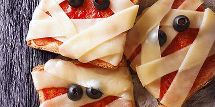 Pizzette effetto mummia