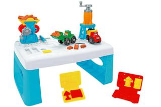 Morbidough Play Table Construction, Kidea Globo