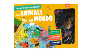Imparo con i magneti – Gli animali del mondo, Gribaudo