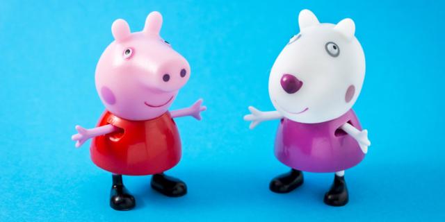 Peppa Pig, un cartone animato… educativo!