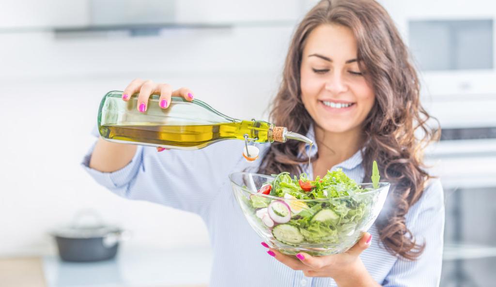 Olio extravergine d'oliva ringiovanisce il cervello