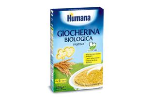 Giocherina biologica – Humana