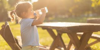 Due litri d'acqua al giorno contro le allergie di stagione