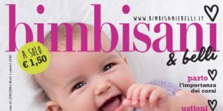 In edicola dal 1° settembre il nuovo numero di Bimbisani & belli di Agosto/Settembre