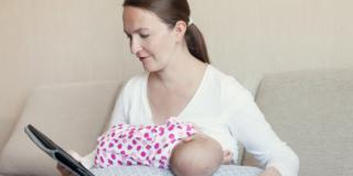 Allattamento al seno e Covid-19, un binomio possibile anche con l'aiuto della tele-lactation