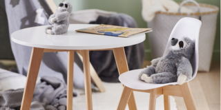 Mathias Sedia e Tavolino per bambini, Casa Italia