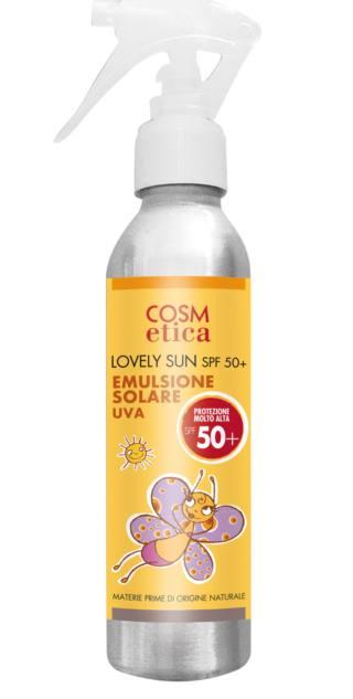 Lovely sun emulsione solare spf 50+  – COSM etica