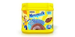 Nesquik 30% meno zuccheri, Nestlé