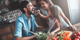 Il cuore sta meglio con le verdure a cena